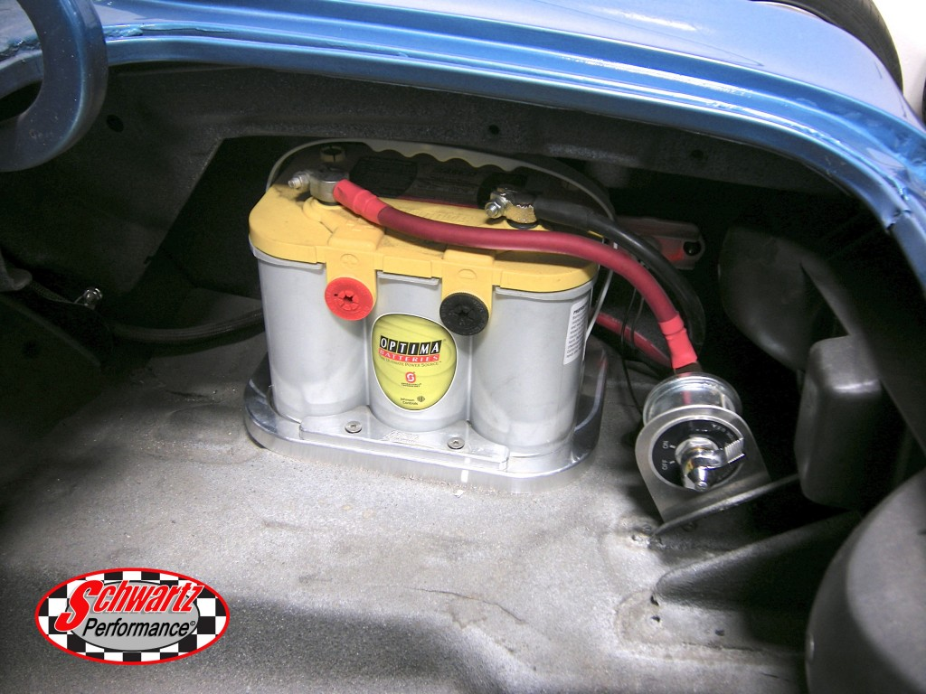 Billet Aluminum Optima 34  78 Battery Tray