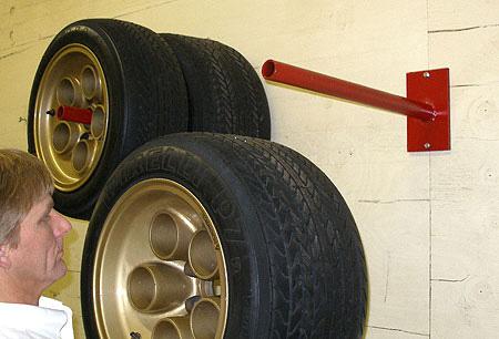 Universal Wheel And Tire Hanger By Merrick Machine