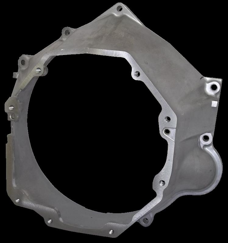 T56 to LS Engine Bellhousing, Aluminum - LS1, LS2, LS3, LS6, LS7, LS9, LSA