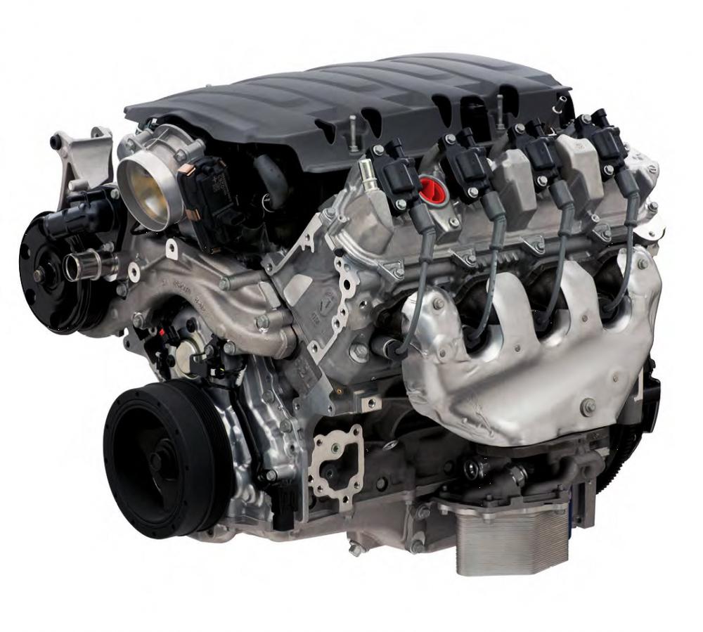 LT1 Crate Engine 6 2L 460hp Wet Sump Gen 5 19355405