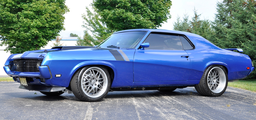 1967 1970 Mercury Cougar Chassis Schwartz Performance