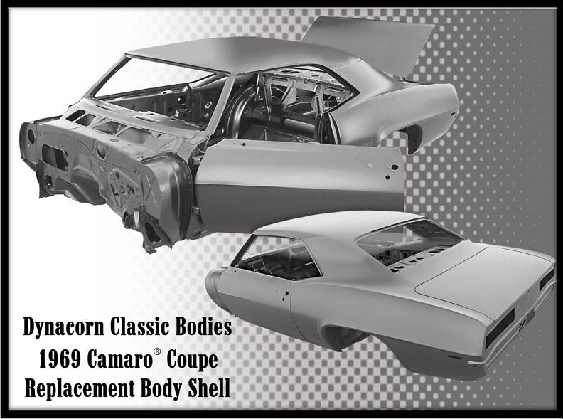 1969 Camaro Body Shell - Coupe